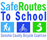 Sonoma County Safe Routes To School logo